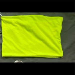 NEON CROPPED BANDEAU
